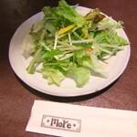 モア - セットのサラダ。