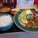 ぎん八 - 焼肉定食700円