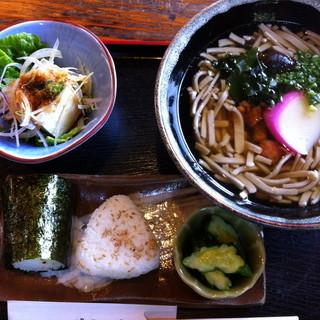 松葉ごろん亭 - 料理写真:880円『地どりそばB定食』2011
