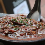 eL MamBo - 鹿とレンズ豆の煮込みアップ