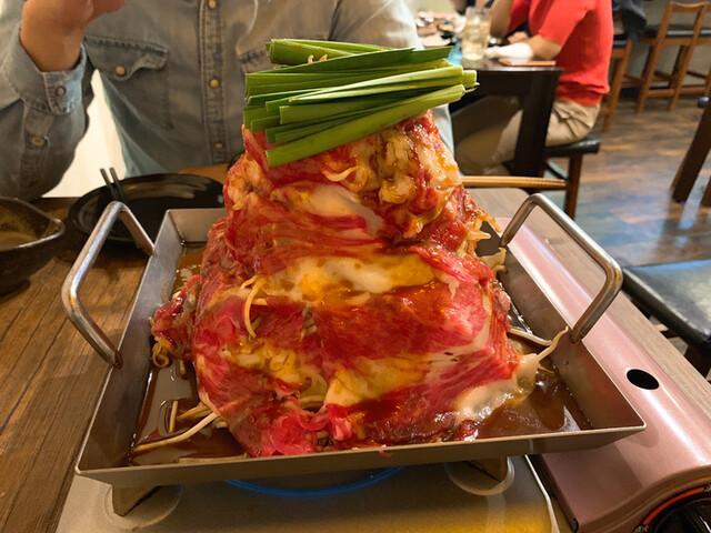 牛串牛鍋じげんの料理の写真