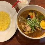 東京ドミニカ - 京鴨のスープカレー