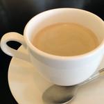 自然の里レストラン - モーニングのコーヒー おかわりOK