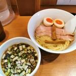 torisobaniboshisobahanayama - 特製つけ麺~昆布水添え~