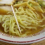 喜多方食堂 - 麺の太さ