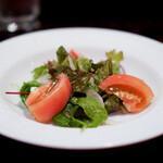 グリルフレンチ - サラダ