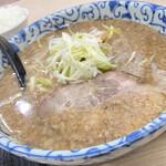函館麺屋 四代目 - のうこうせあぶらしょうゆ