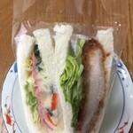 横浜サンド - トンカツとポテトサラダ