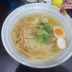 麺や hide - マグロ出汁中華そば塩味