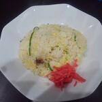 麺や hide - 半チャーハン