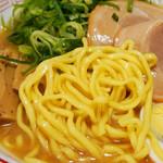 雪ミク スカイタウン - 麺もコシがあって美味しい。