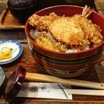 更科 - 料理写真:天丼とそばのセット