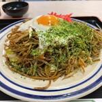 大判焼き マツモト - 大判焼き マツモト@市沢町(横浜) いか玉焼きそば・ソース