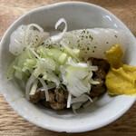 大衆酒場 増やま - イカ納豆 ¥300 税別