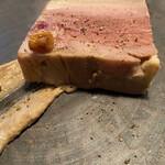 カナイユ - 大山鶏、レバーのパテ、焼きとうもろこし
