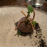 カナイユ - 富山産ホタルイカと春ゴボウのパテ