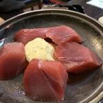 赤札屋 弁慶 - マグロステーキ