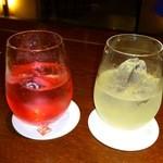 12990388 - 赤い梅酒、子宝柚子酒
