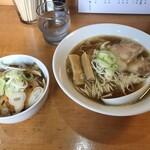 らぁめん家 有坂 - 料理写真:料理