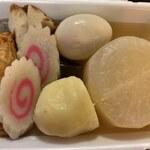 石関商店 - 料理写真:おでん 321円