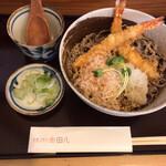 そば うどん 田八 - 料理写真:海老天ぶっかけ