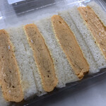 Kaferesutoranoashisu - 那須御用卵の出汁巻き玉子サンド