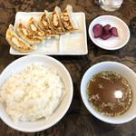 129914219 - 餃子定食(税込590円)