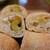 ル シズィエム サンス - 料理写真:オリーブ(260円)の断面