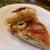 ル シズィエム サンス - 料理写真:タルトフランベの断面