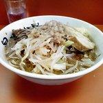 暴豚製麺所 - 小ラーメン・野菜ちょいマシ