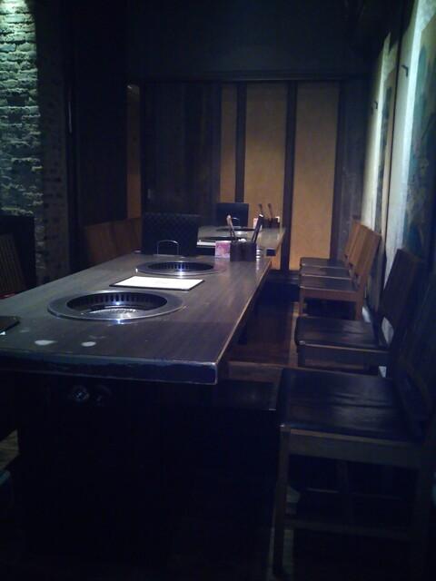 我家 宮崎台店 - テーブル席(2020年5月5日撮影)