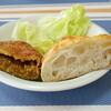 ルイ ジャポネ - 料理写真:天然酵母塩パンと特製ビーフカレーパン