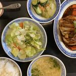手包み餃子酒場CHANJA - よだれ鶏ランチ680円