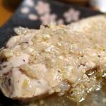 129932629 - 鶏むね肉のネギソース
