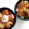 じゅげむ - 料理写真:鶏から揚げ丼、海老天丼  各490円