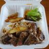ブルズ ベース キャンプ - 料理写真:BULL'Sのビーフステーキ(LUNCH BOX)