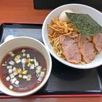 129938369 - 「つけ麺」+「味玉」