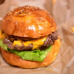 肉屋食堂 - ハンバーガー