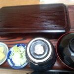 厚岸 藪蕎麦 - 料理写真:セットメニュー 1000円
