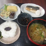12995680 - 焼鯖定食(700円)