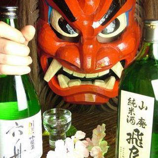 秋田の旨い地酒がそろっております♪