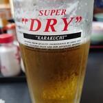 味処湯処 よしちょう - ドリンク写真:ビール