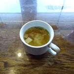 モンキーヒル - スープと称する事実上のみそ汁