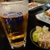 弁天 - ドリンク写真:ビールとお通し