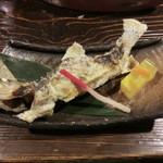 土蔵食亭 - 岩魚の塩焼(840円)_2012-05-12