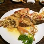 沖縄料理 みやぎや - 県産魚バター焼き