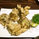 沖縄料理 みやぎや - もずく(天ぷら)