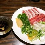 沖縄料理 みやぎや - 琉球イノシシ刺