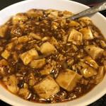 大善 - 料理写真:日替わりランチの麻婆豆腐