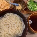 山田製麺所 - 出来上がり~。1.5玉です。